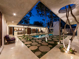 Balcones y terrazas de estilo moderno de Taller Estilo Arquitectura Moderno