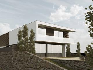 Modern houses by Esboçosigma, Lda Modern