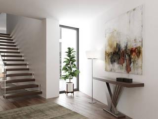 Esboçosigma, Lda Modern corridor, hallway & stairs