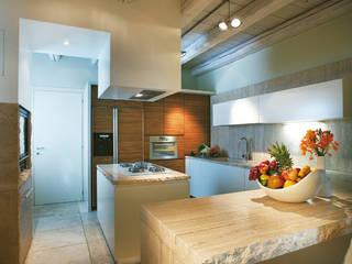 Daniele Franzoni Interior Designer - Architetto d'Interni Kitchen Marble Beige