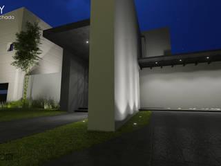TRINITY: Accesos: Casas de estilo  por LABORATORIO CREATIVO HORIZONTE