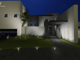 TRINITY: Casas de estilo  por LABORATORIO CREATIVO HORIZONTE