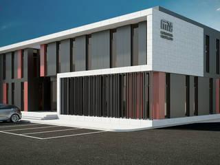 Complesso d'uffici in stile minimalista di Esboçosigma, Lda Minimalista