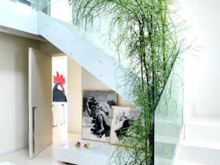 Daniele Franzoni Interior Designer - Architetto d'Interni Modern Living Room Marble White