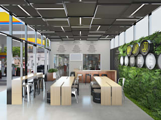 Lounge PSJ: Espaços comerciais  por Escala Humana Arquitetura