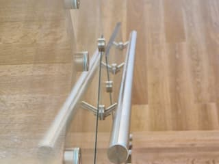 Euroscala Modern Corridor, Hallway and Staircase Engineered Wood Beige