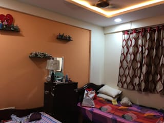 3bhk flat at sanath nagar:  Bedroom by studio B.A.D