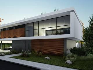 Modern houses by LEONARDO CABRAL ARQUITETURA Modern
