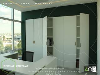 OFICINAS UCHIYAMA: Estudios y oficinas de estilo  por AQ3 Arquitectos
