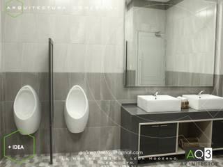 INMES & +IDEA: Estudios y oficinas de estilo  por AQ3 Arquitectos