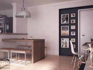 Comedores de estilo minimalista de Breion Arquitetura Minimalista