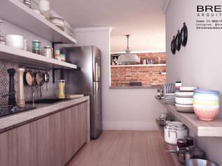 Cocinas de estilo minimalista de Breion Arquitetura Minimalista