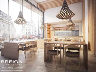Bodegas de vino de estilo moderno de Breion Arquitetura Moderno