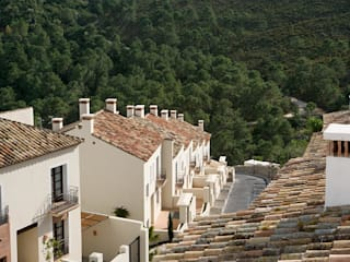 EL CASAR: Casas de estilo  de HABITANTE