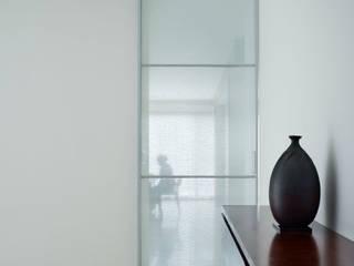 水谷壮市 Couloir, entrée, escaliers minimalistes