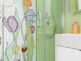 Grippo + Murzi Architetti 現代浴室設計點子、靈感&圖片