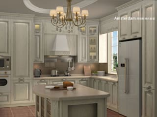 YALIG Solid Wood Kitchen Cabinets:   by YALIG Kitchen Cabinet