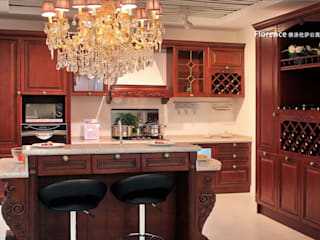 YALIG Solid Wood Kitchen Cabinets: classic  by YALIG Kitchen Cabinet, Classic