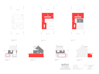Architectural Drawings 根據 The Market Design & Build