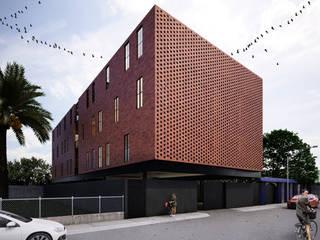 Vizcaya 64: Casas de estilo  por HEROICA