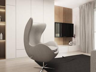 Media room by FOORMA Pracownia Architektury Wnętrz