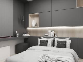 Modern Bedroom by FOORMA Pracownia Architektury Wnętrz Modern