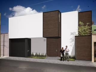 Casa CA Casas modernas de Humberto Leal Arquitecto Moderno
