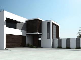 Casa NC Casas modernas de Humberto Leal Arquitecto Moderno