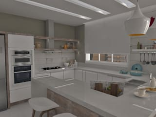 Modern style kitchen by E+D Arquitetura Modern