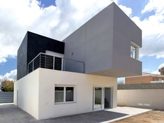 Nowoczesne domy od arqubo arquitectos Nowoczesny