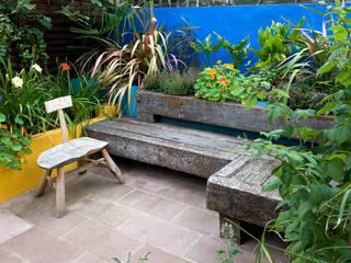 Mexican Inspired Garden de Earth Designs Mediterráneo