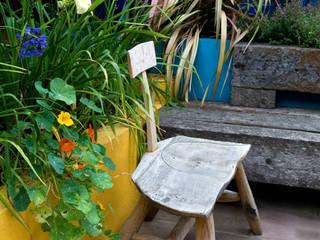Handmade garden chair Earth Designs Mediterranean style gardens
