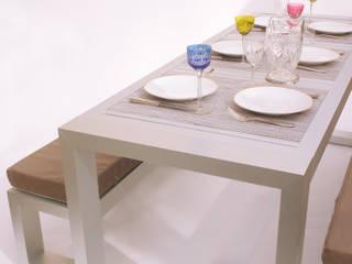 Comedor de Aluminio:  de estilo  por MÖGEN OUTDOOR