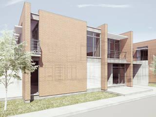 Fachada Principal: Casas de estilo moderno por Tu Obra Maestra