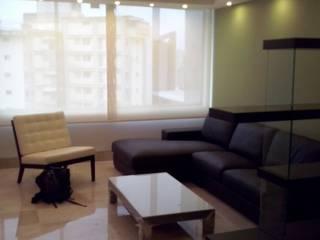 Salón Living: Livings de estilo moderno por Tu Obra Maestra