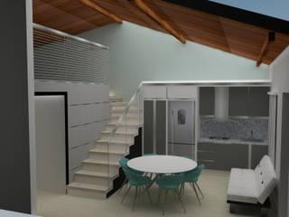 APARTAMENTO EN LA PLAYA Cocinas de estilo moderno de MAS ARQUITECTURA1 - Arq. Marynes Salas Moderno