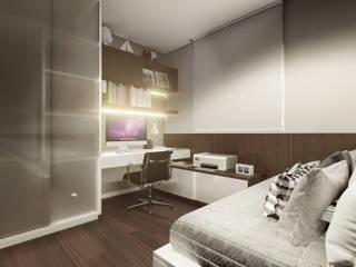 Home Office: Escritórios  por PHD Arquitetos