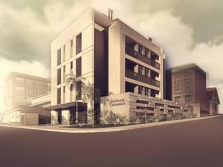 Edificio residencial  :   por PHD Arquitetos
