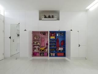 [HAPPY HOUSE 65] CĂN HỘ NHỎ NHƯNG ĐẦY ĐỦ CÔNG NĂNG Tường & sàn phong cách hiện đại bởi Công ty cổ phần NỘI THẤT AVALO Hiện đại