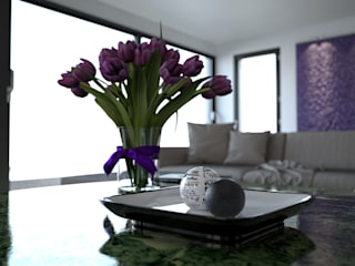 mcp-render Modern living room