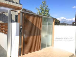 プライバシーをさりげなく 地中海風 庭 の HIRO GARDENING 地中海