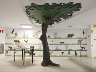 Kids Club Puente Romano Dormitorios infantiles de estilo moderno de Klic Arquitectos Moderno
