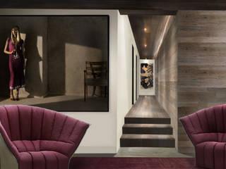 Apartment Cham | Interior Architecture | Interior Design: moderne Wohnzimmer von rossana mingrone innenarchitektur