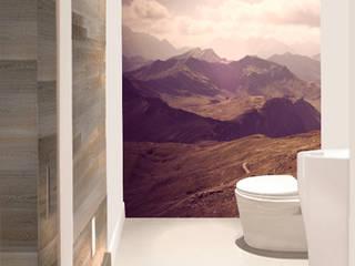 Apartment Cham | Interior Architecture | Interior Design: moderne Badezimmer von rossana mingrone innenarchitektur