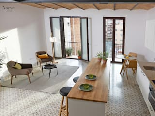 Estilismo Navas de Tolosa:  de estilo  de THE ROOM & CO interiorismo,