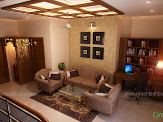 Best Interior Designers in Kochi:  Living room by Greentech Interiors