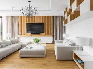 Modern living room by Ayuko Studio Modern