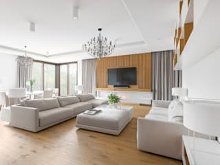 Living room by Ayuko Studio