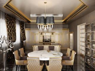 Дом в стиле фьюжн Кухня в классическом стиле от Архитектурное бюро 'Дом-А' Классический