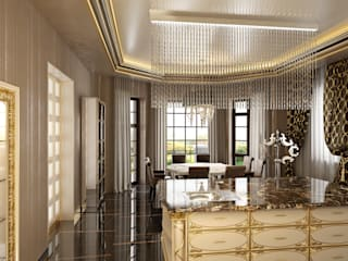 Дом в стиле фьюжн Столовая комната в классическом стиле от Архитектурное бюро 'Дом-А' Классический